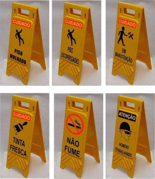 Cavalete de sinalização