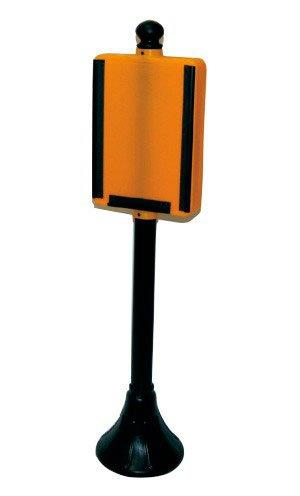 Pedestal placa móvel