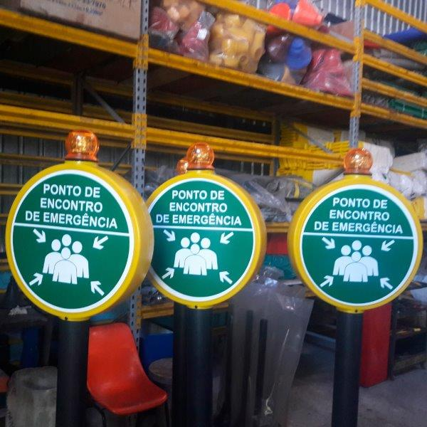 Placas de sinalização industrial